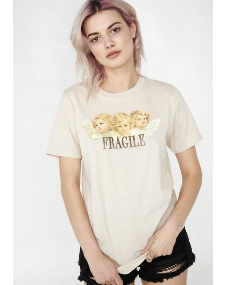 Fragile Angels Oversized Tee