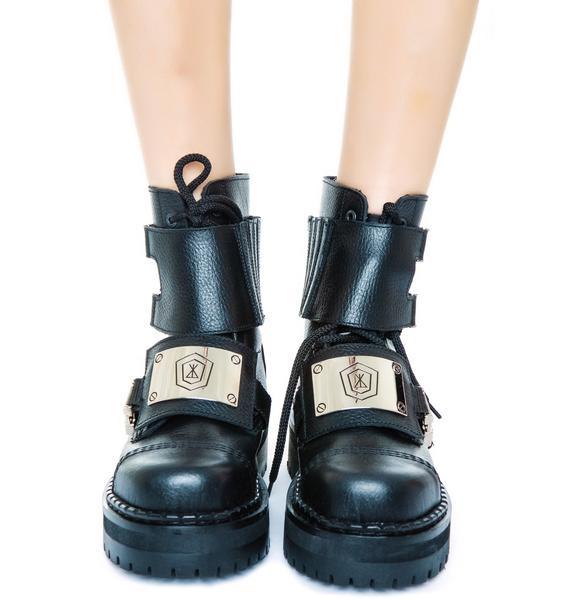 Underground x Long Clothing Commando Double Sole Shoes