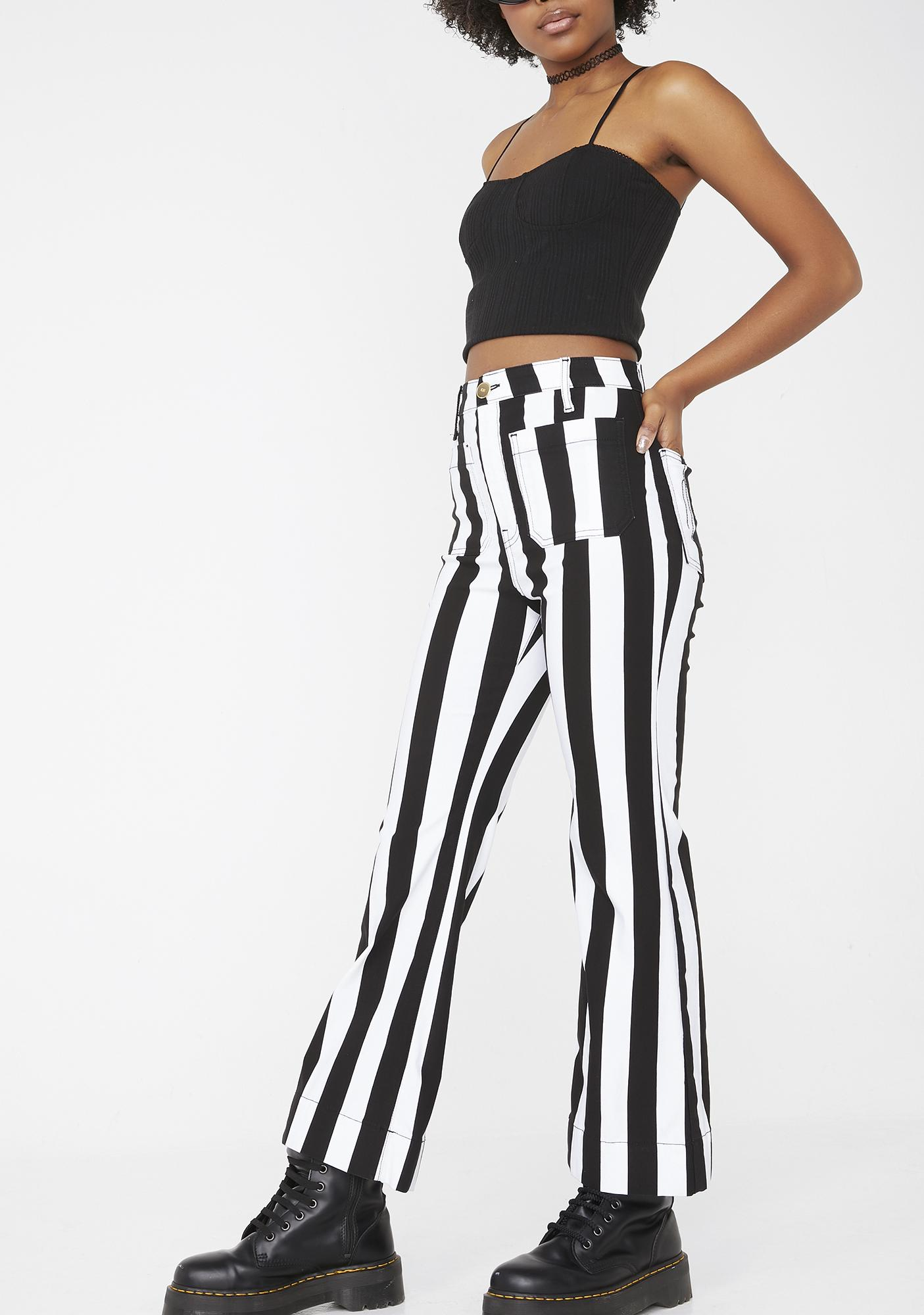 Show Me Your Mumu Cropped Farrah Trousers