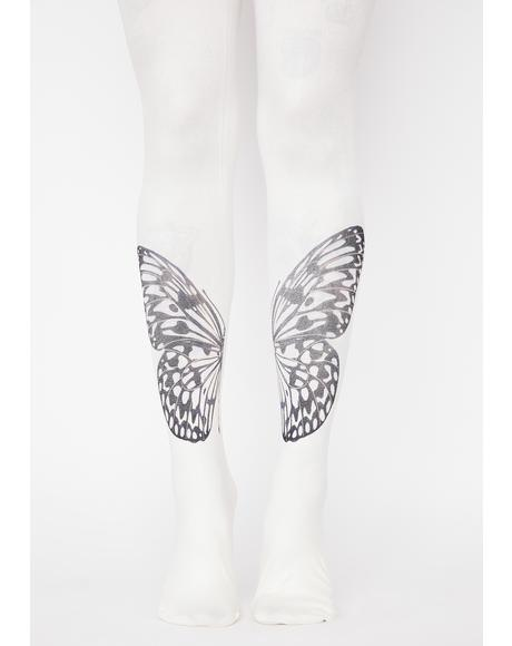 Angel Mystic Moonwalk Butterfly Tights