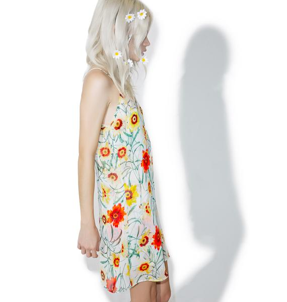 Wildfox Couture Wild Daisy Jumper Dress
