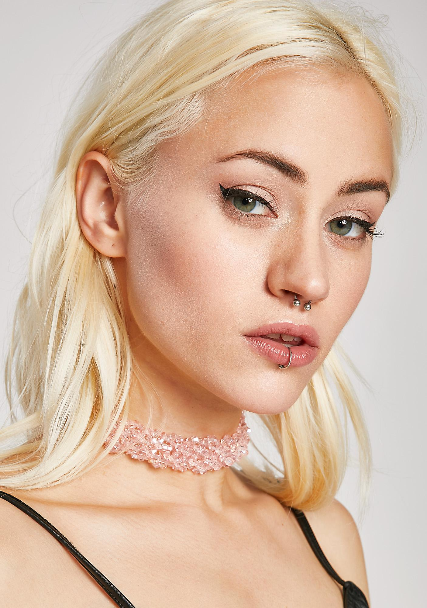 Candy Coated Bead Choker