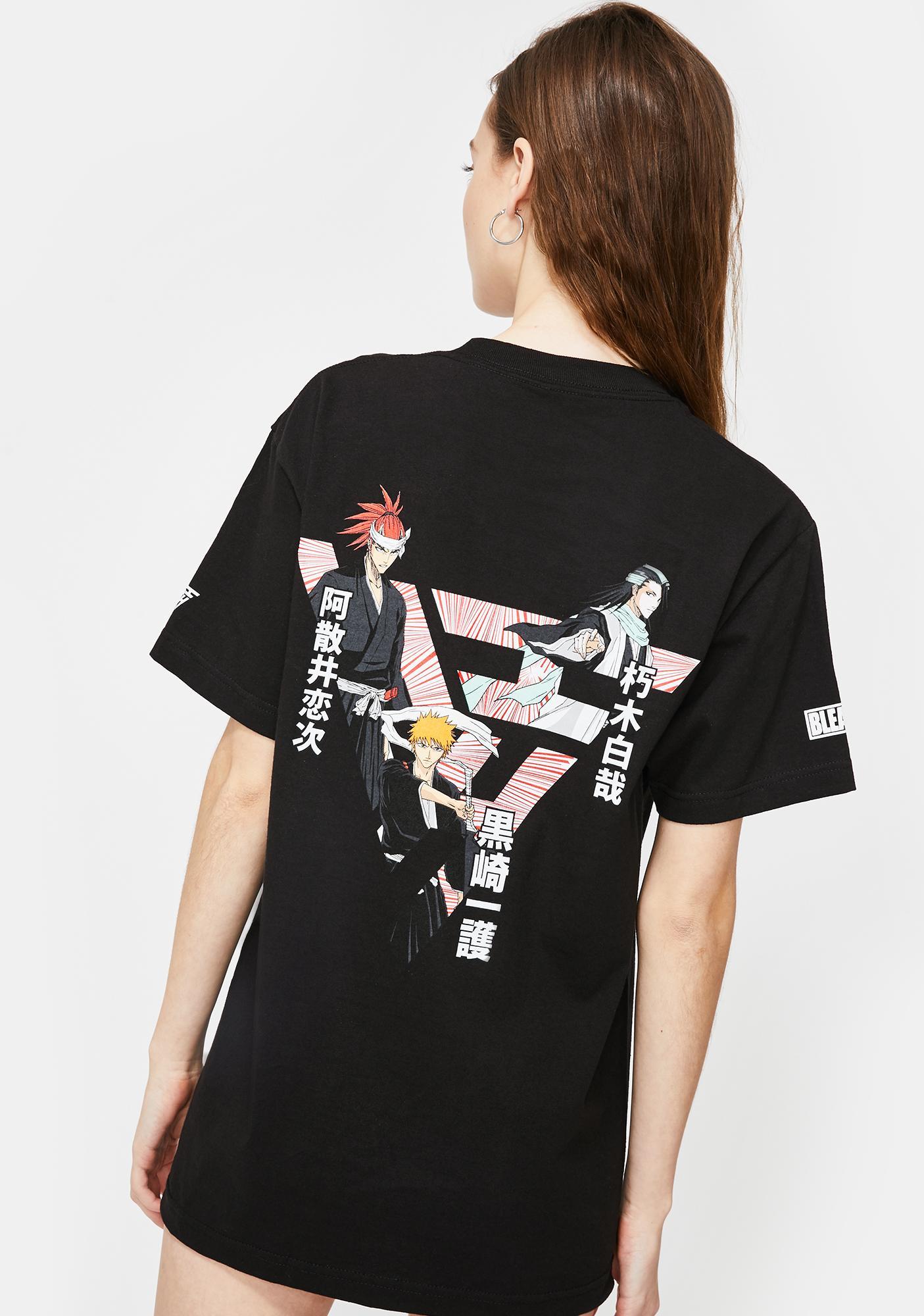 HYPLAND X Bleach Triple Threat Graphic Tee