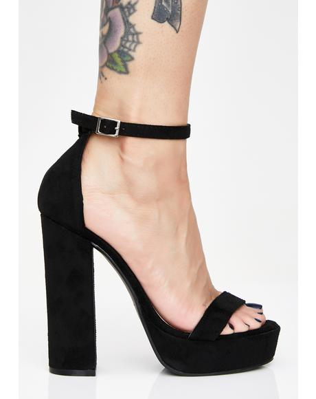 Break Necks Platform Heels