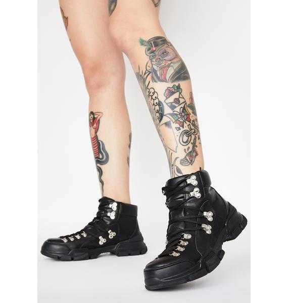 Close Combat Lace Up Boots
