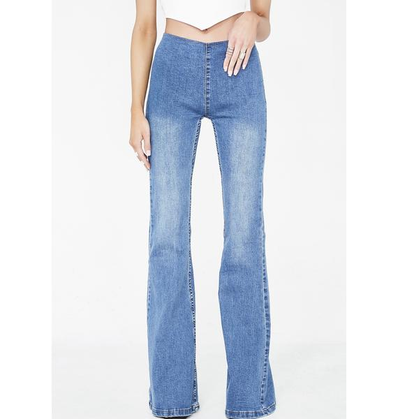 American All Star Flared Jeans