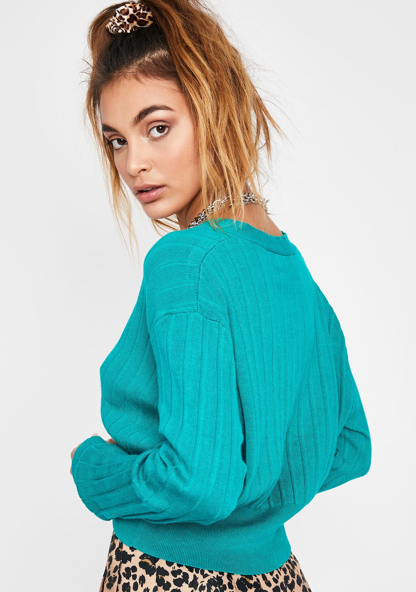 Lil Boujie Babe Knit Cardigan