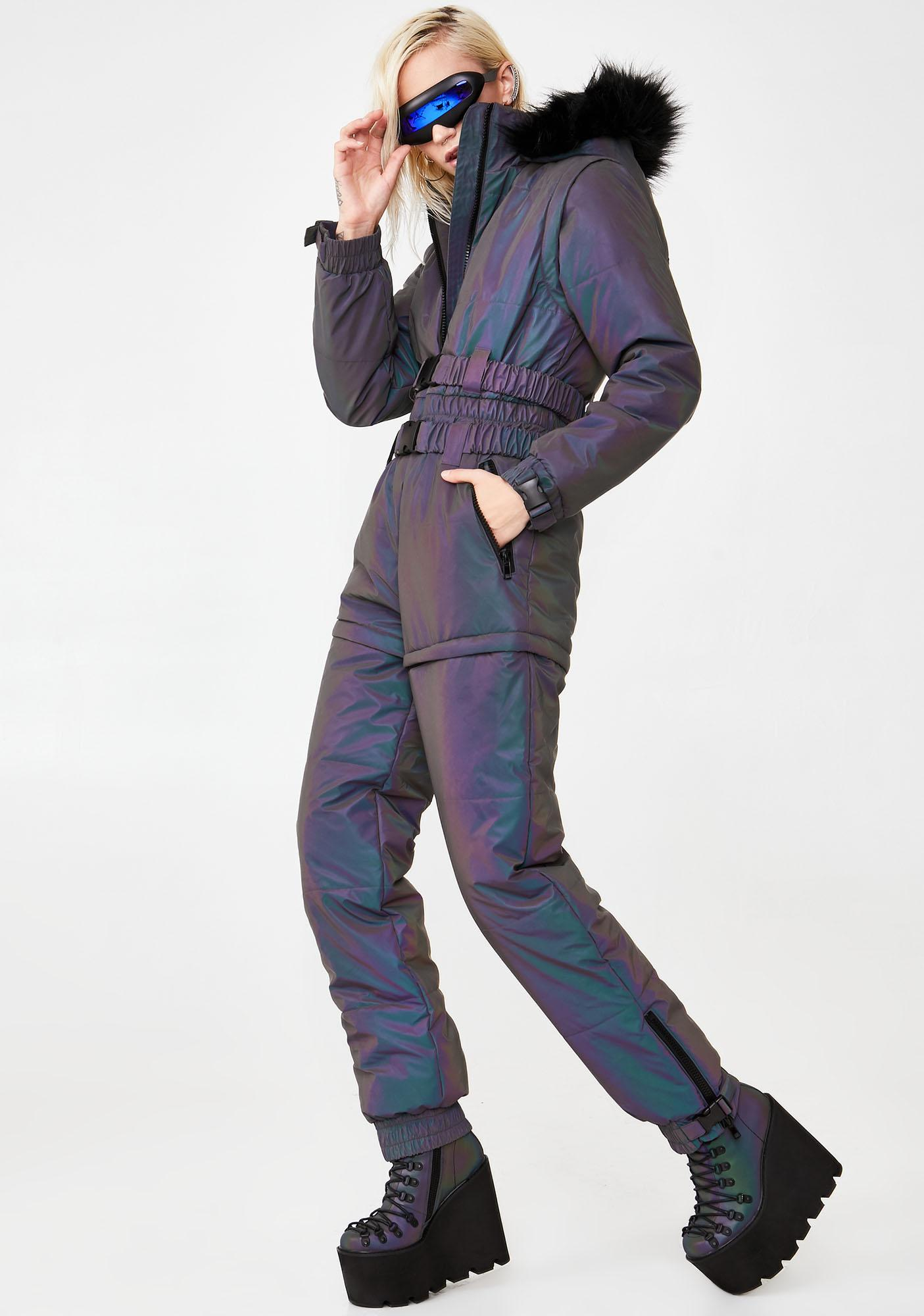 Club Exx Astro Fusion Reflective Snowsuit