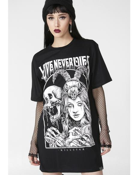 Love Never Dies T- Shirt