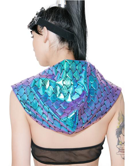 Reversible Mermaid Hood