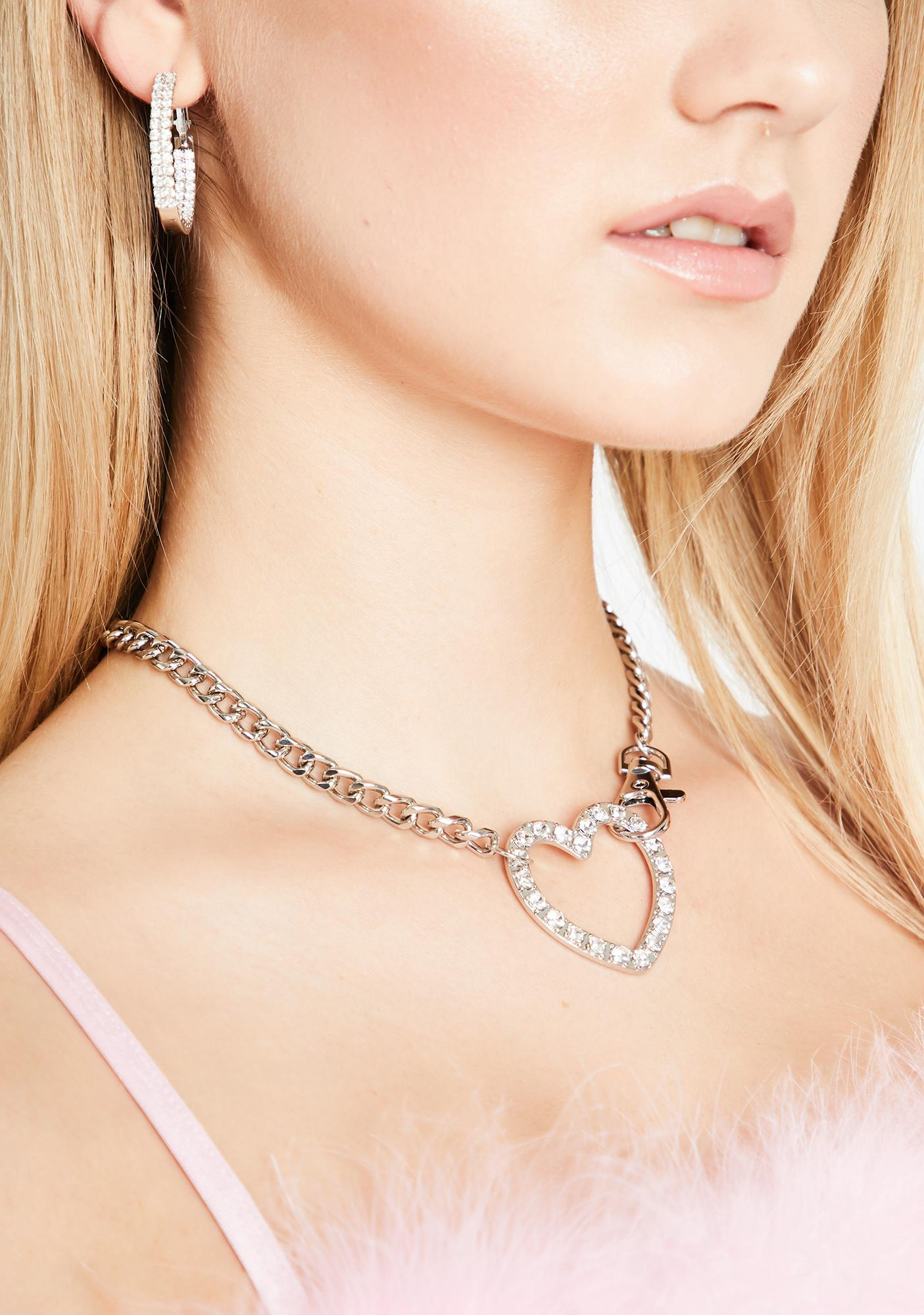 Self-Absorbed Heart Necklace