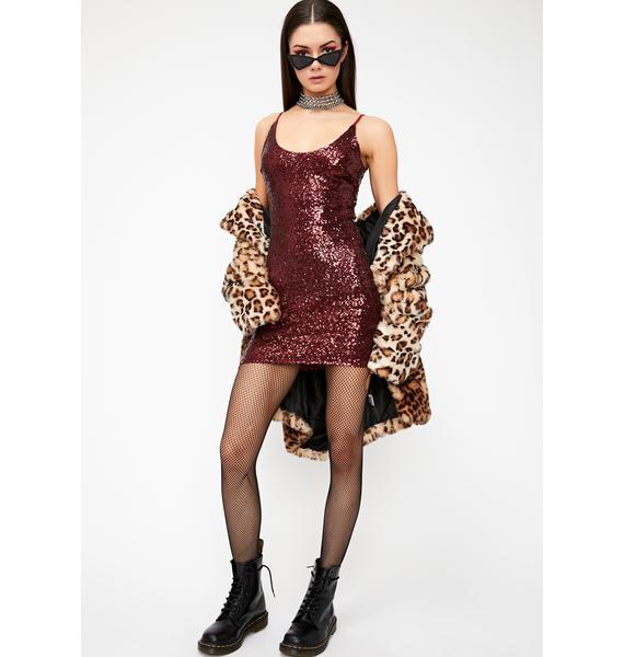Blindin' Shine Sequin Dress
