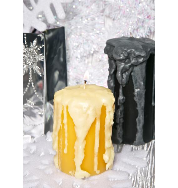 Wick[ed] Pre-Dripped Bare Candle