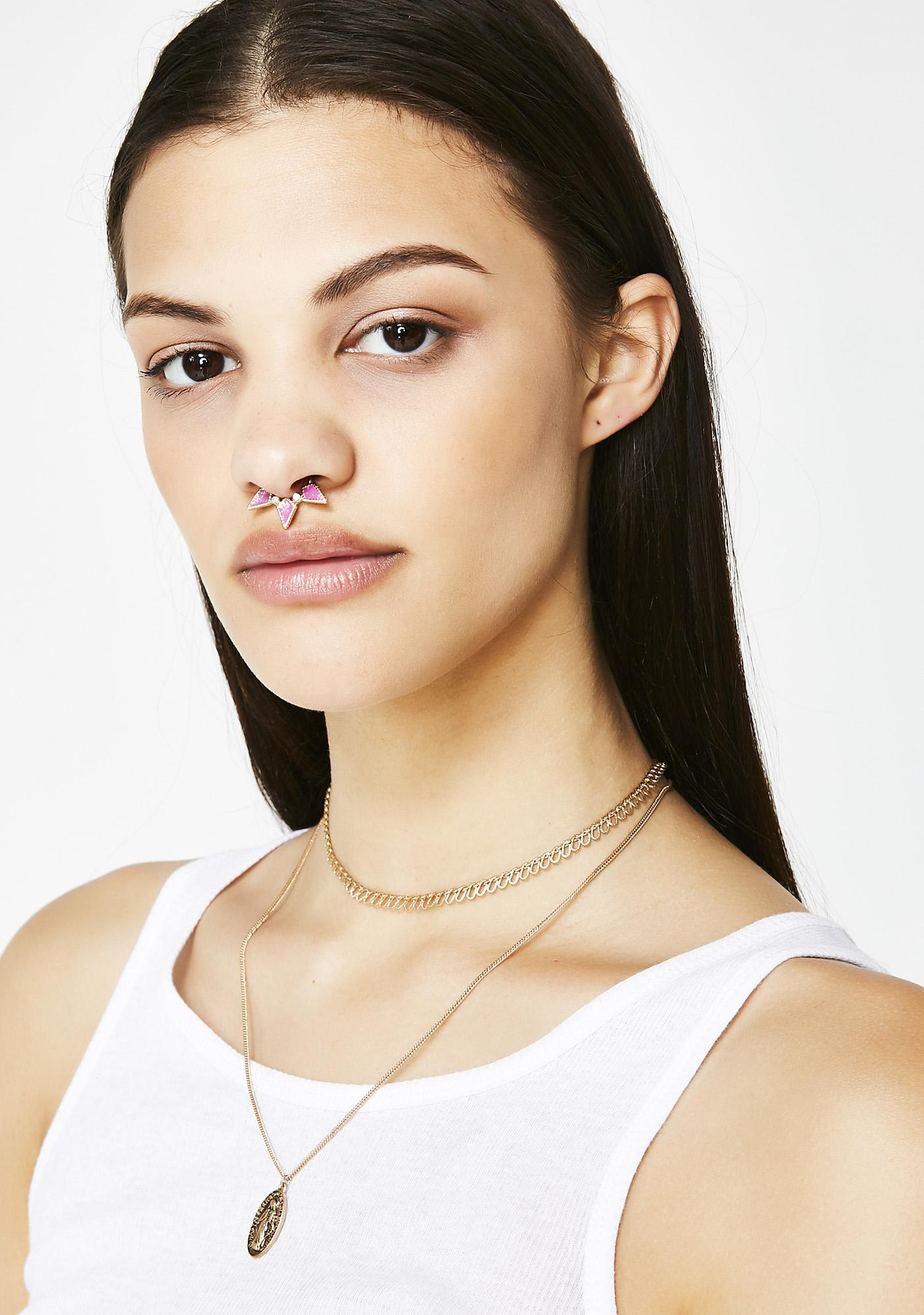 Unicorn Stardust Septum Ring