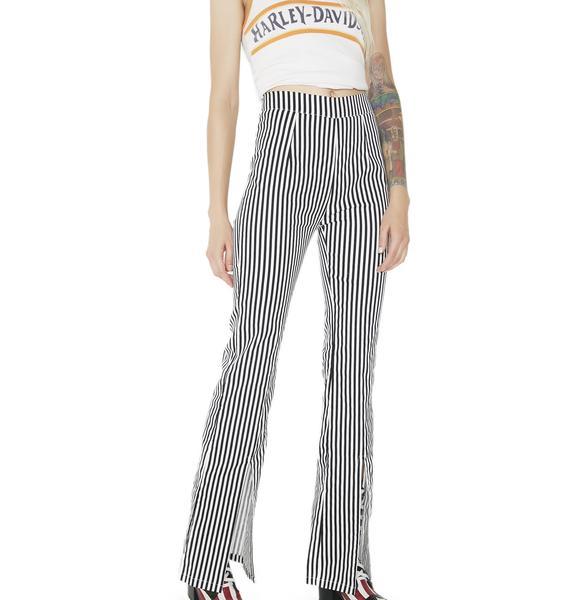 Let It Ride Striped Pants