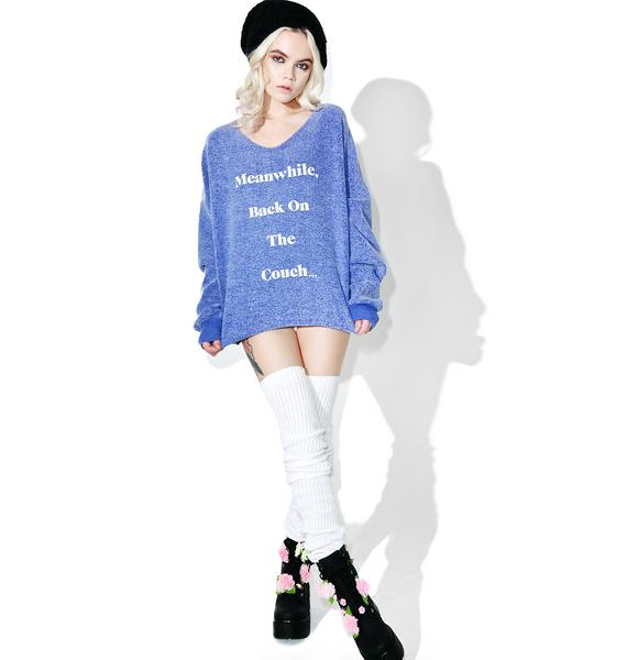 Wildfox Couture Veg Forever 5 AM Sweatshirt