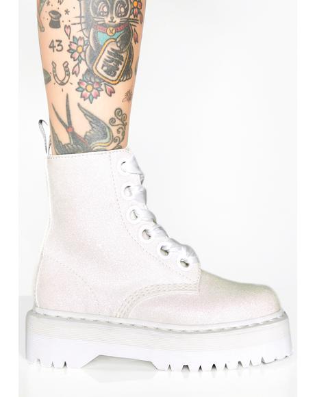 Pure Molly Glitter Boots
