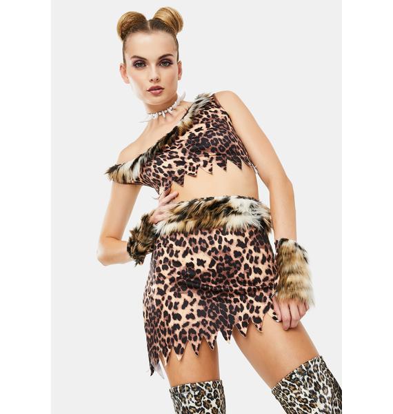 Wild One Cavewoman Costume