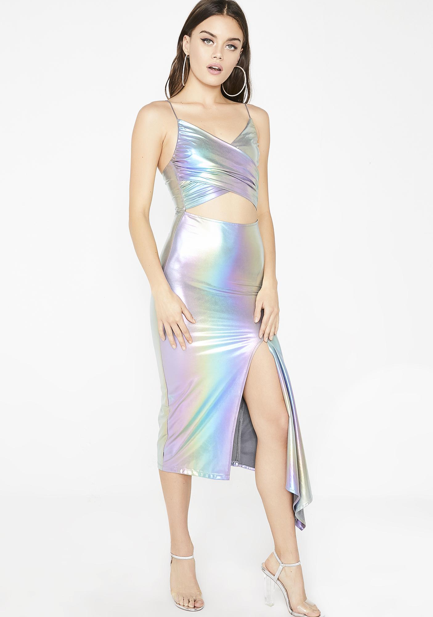 Cosmic Sea Dream Midi Dress
