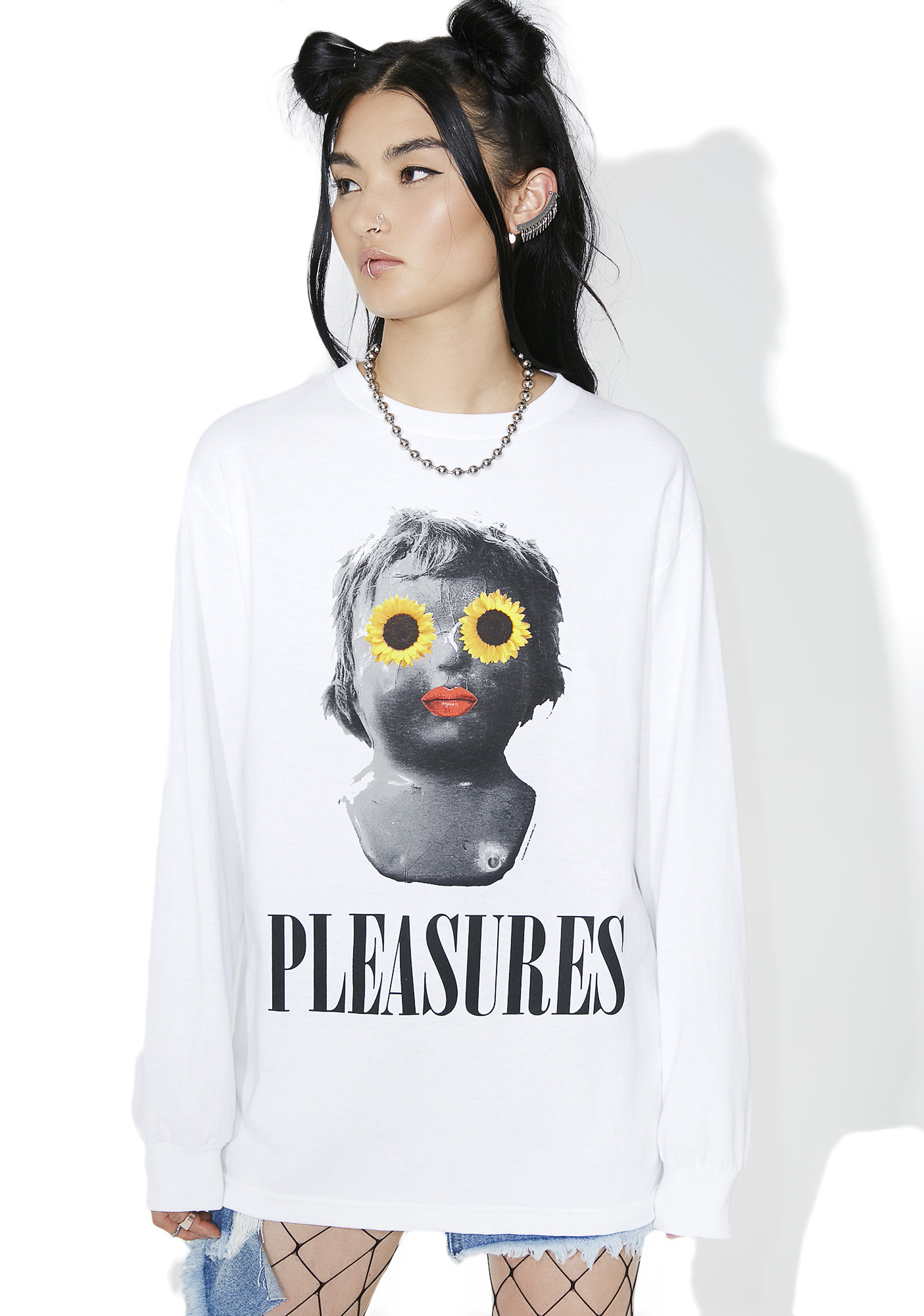 Pleasures Flower Child Long Sleeve Tee