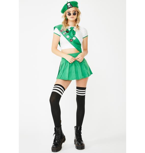 Dolls Kill Hell Scout Costume Set
