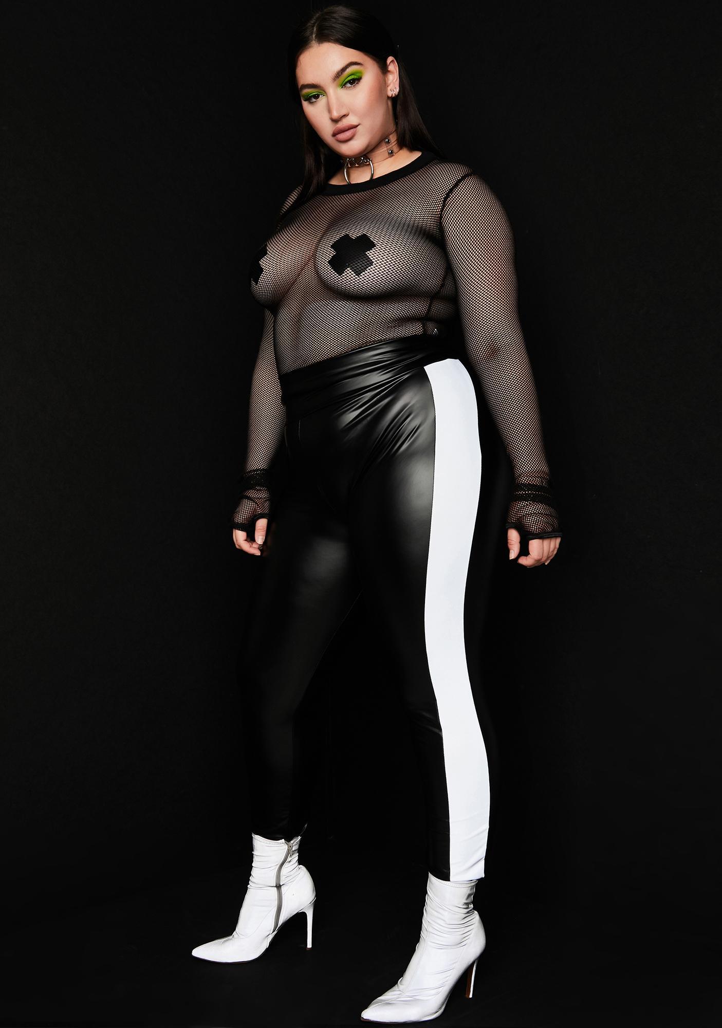 Lux Slick Fusion Reflective Leggings