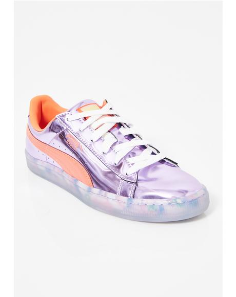 x Sophia Webster Basket Candy Princess Sneakers