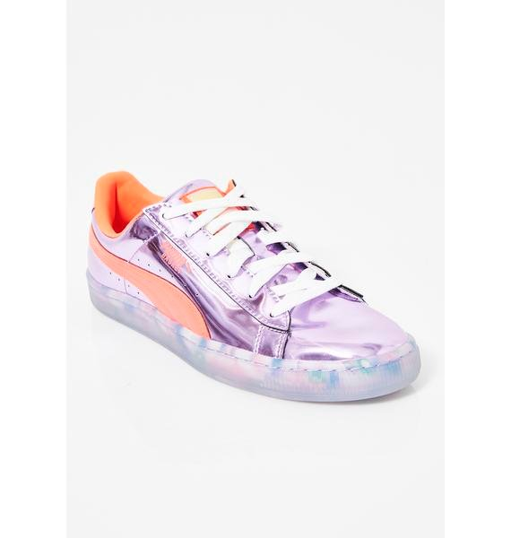 PUMA x Sophia Webster Basket Candy Princess Sneakers