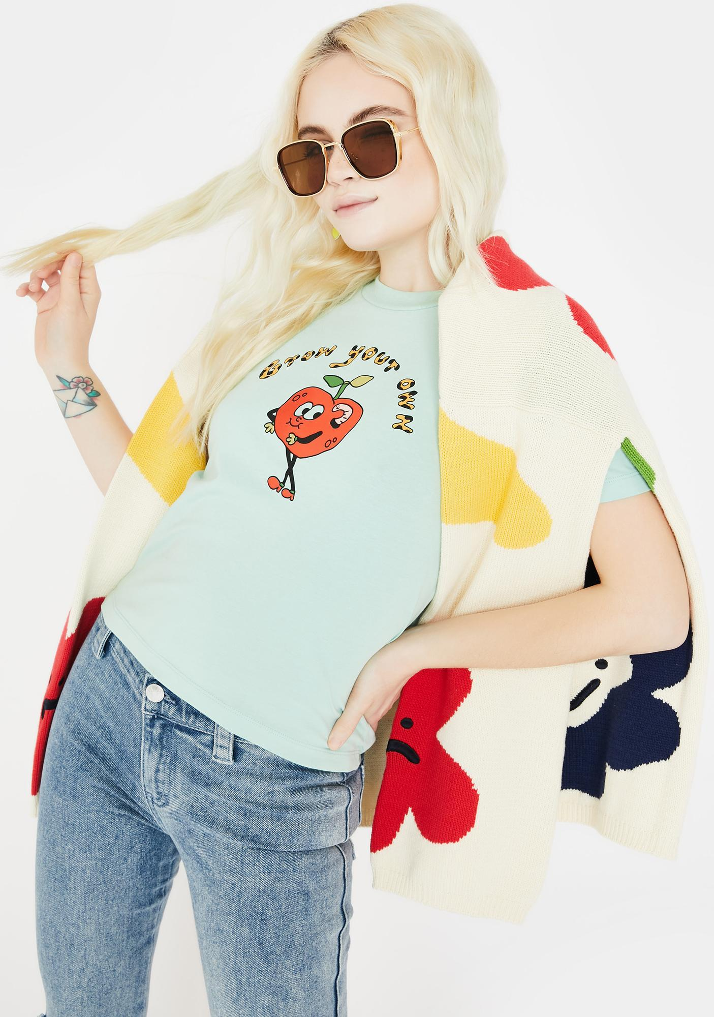 Lazy Oaf Grow Your Own Apple Graphic Tee