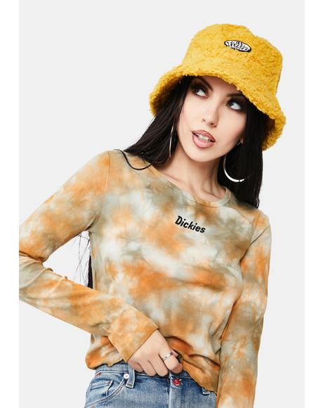 Yellow Sherpa Bucket Hat