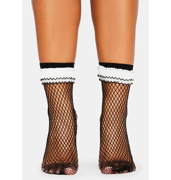 Leave No Trace Fishnet Socks