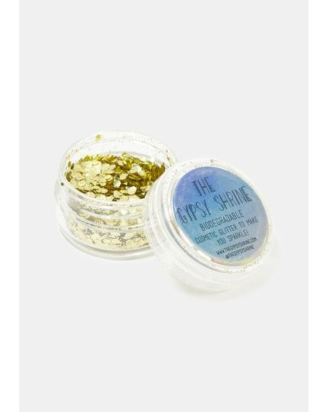 Holographic Gold Biodegradable Chunky Glitter