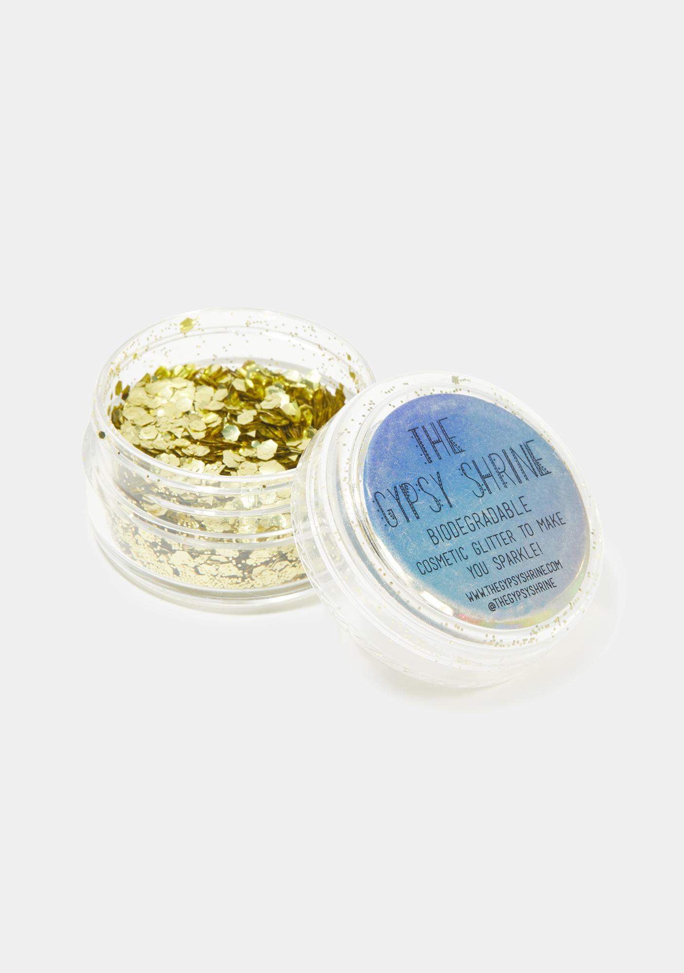 SHRINE Holographic Gold Biodegradable Chunky Glitter