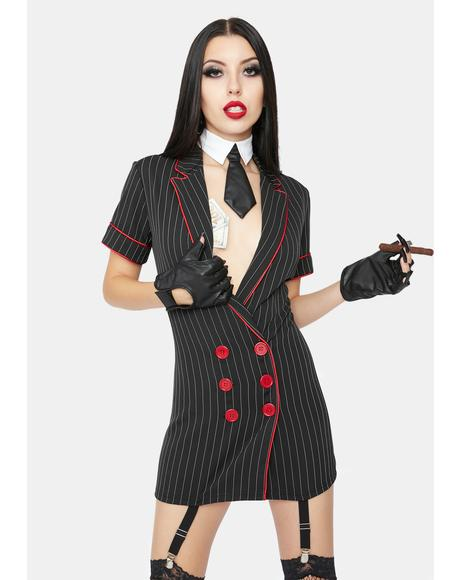 Mob Wife Costume Set