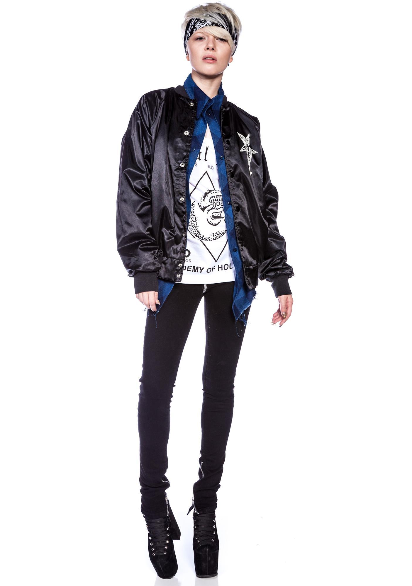 We Don't Die Nylon Snap Jacket