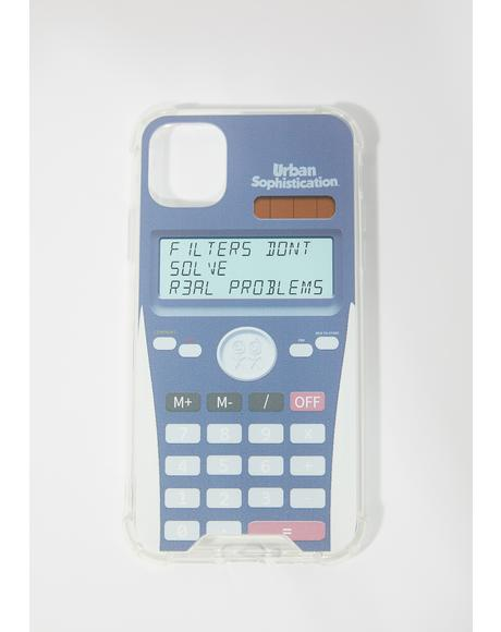 Real Problems IPhone Case