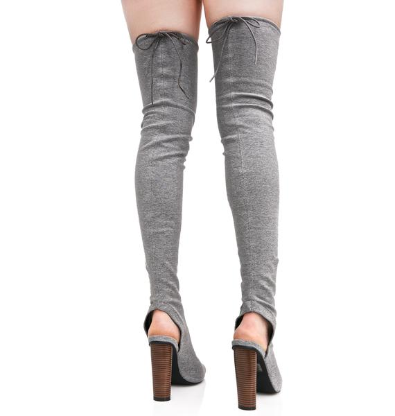 Public Desire Sidney Sock Boots