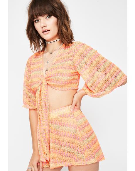 Fluorescent Wind Crochet Set
