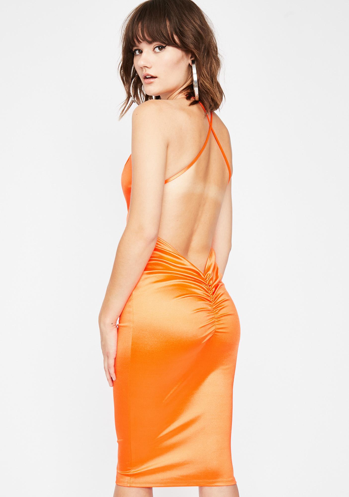 Glam Connection Midi Dress