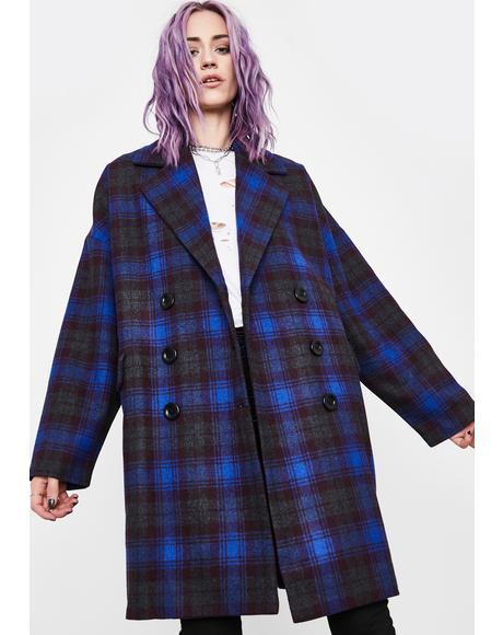 Swift Impact Plaid Coat