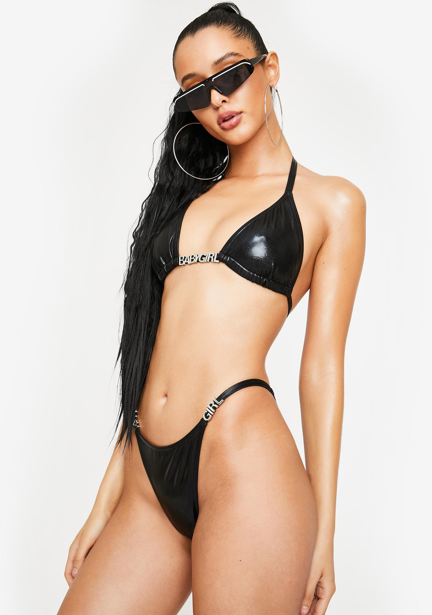 Poster Grl Anything For Babygirl Bikini Set