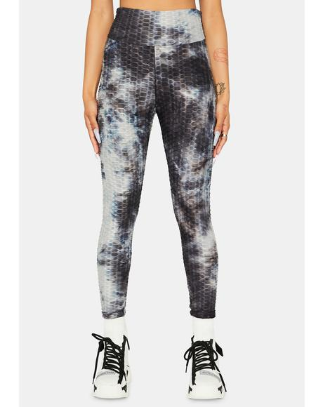 When I'm With You Active Tie Dye Leggings