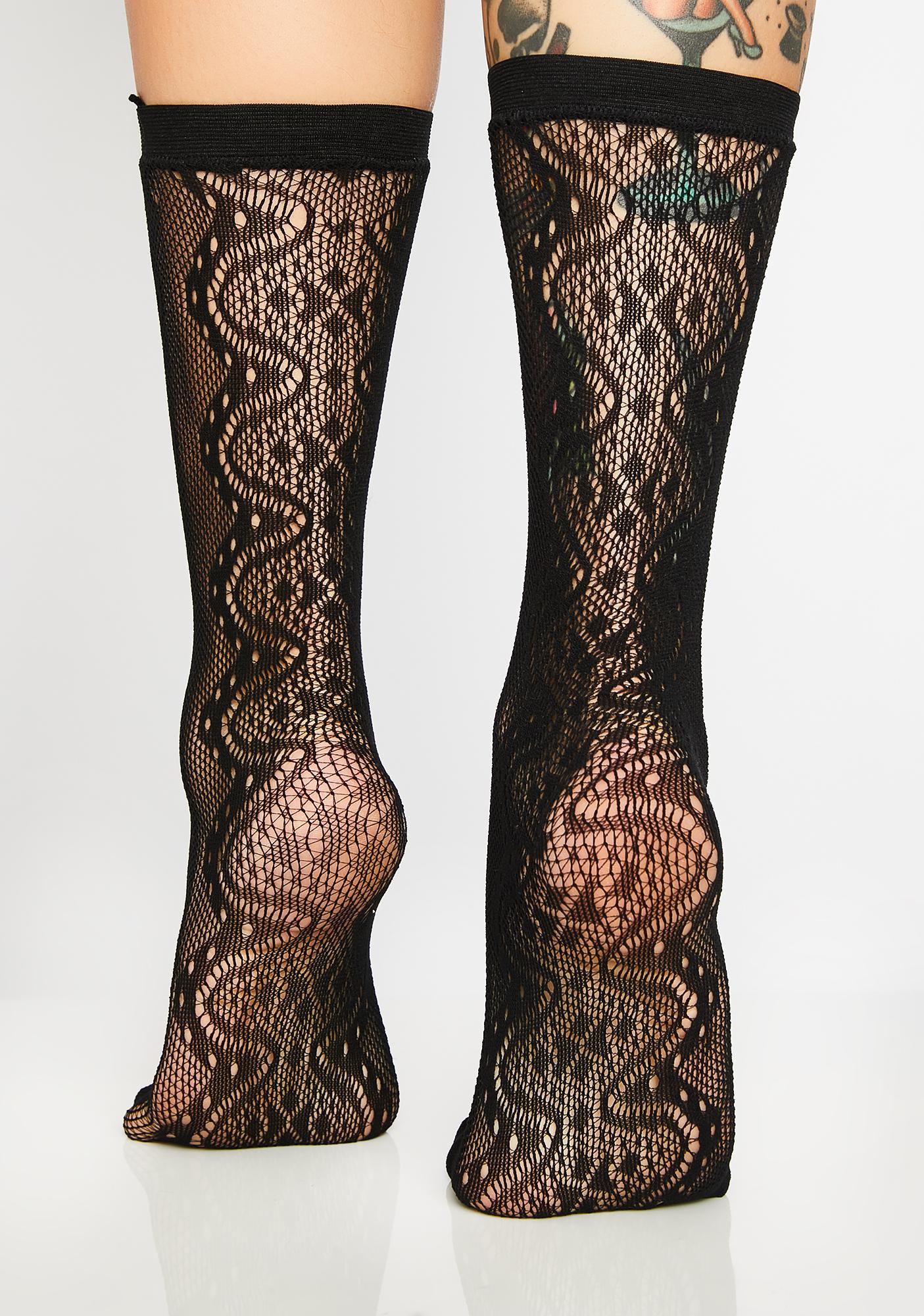 Killstar Victoria Ankle Socks