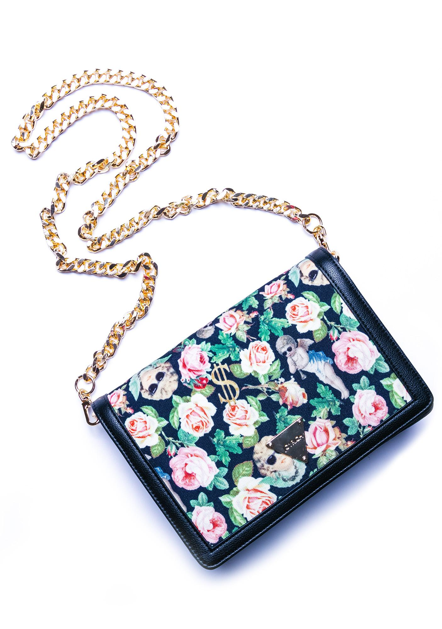 Joyrich Angelic Rich Floral Shoulder Bag