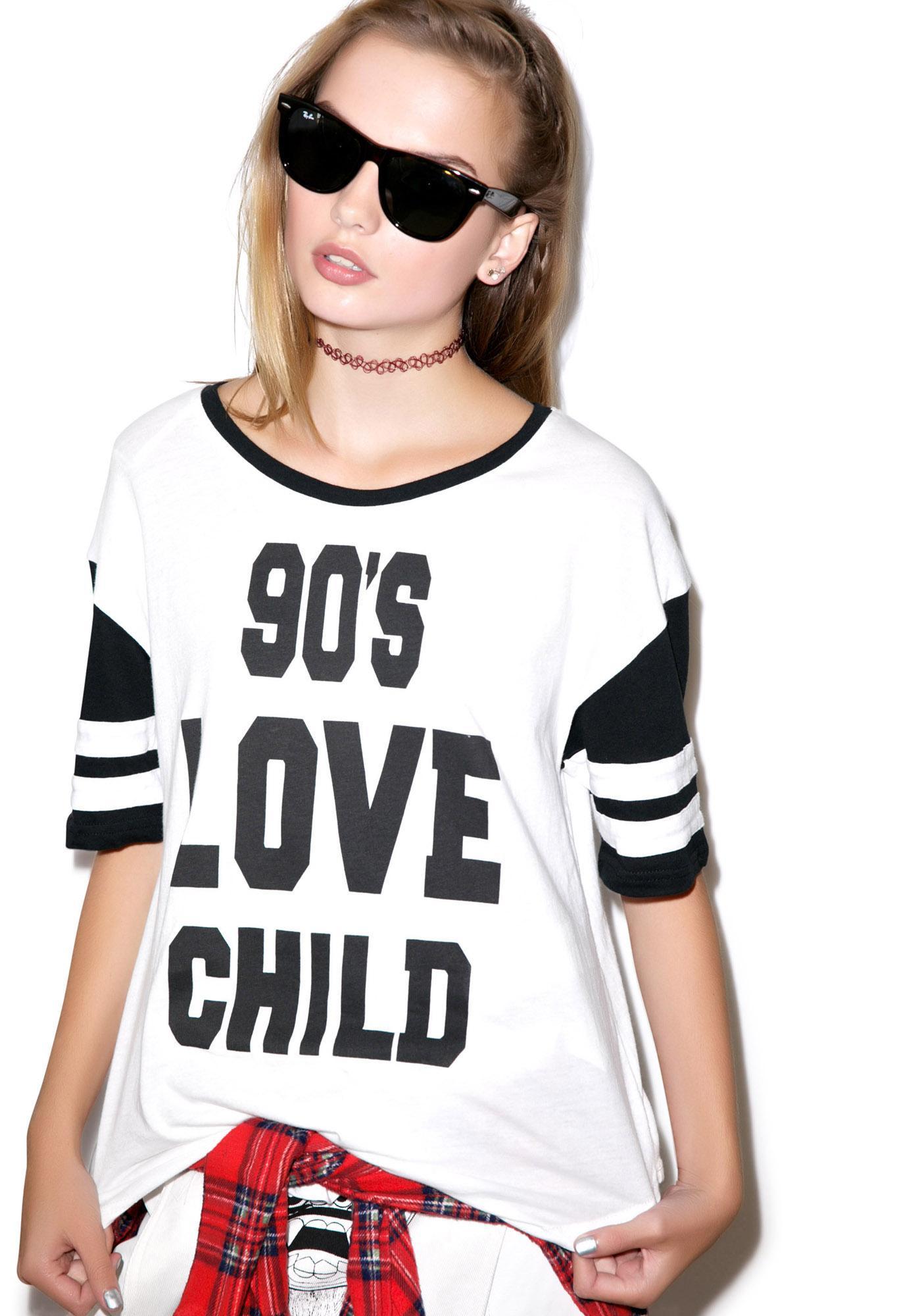 Mink Pink 90s Love Child Tee