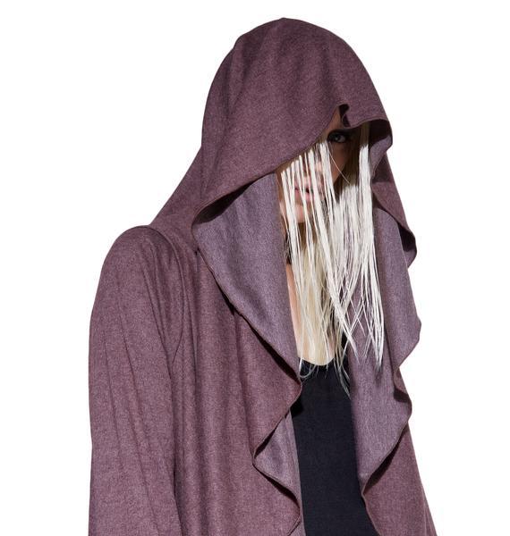 MNML Premonition Hooded Cardigan