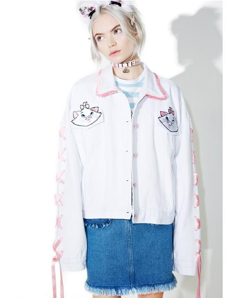 X Disney Aristocats Denim Jacket