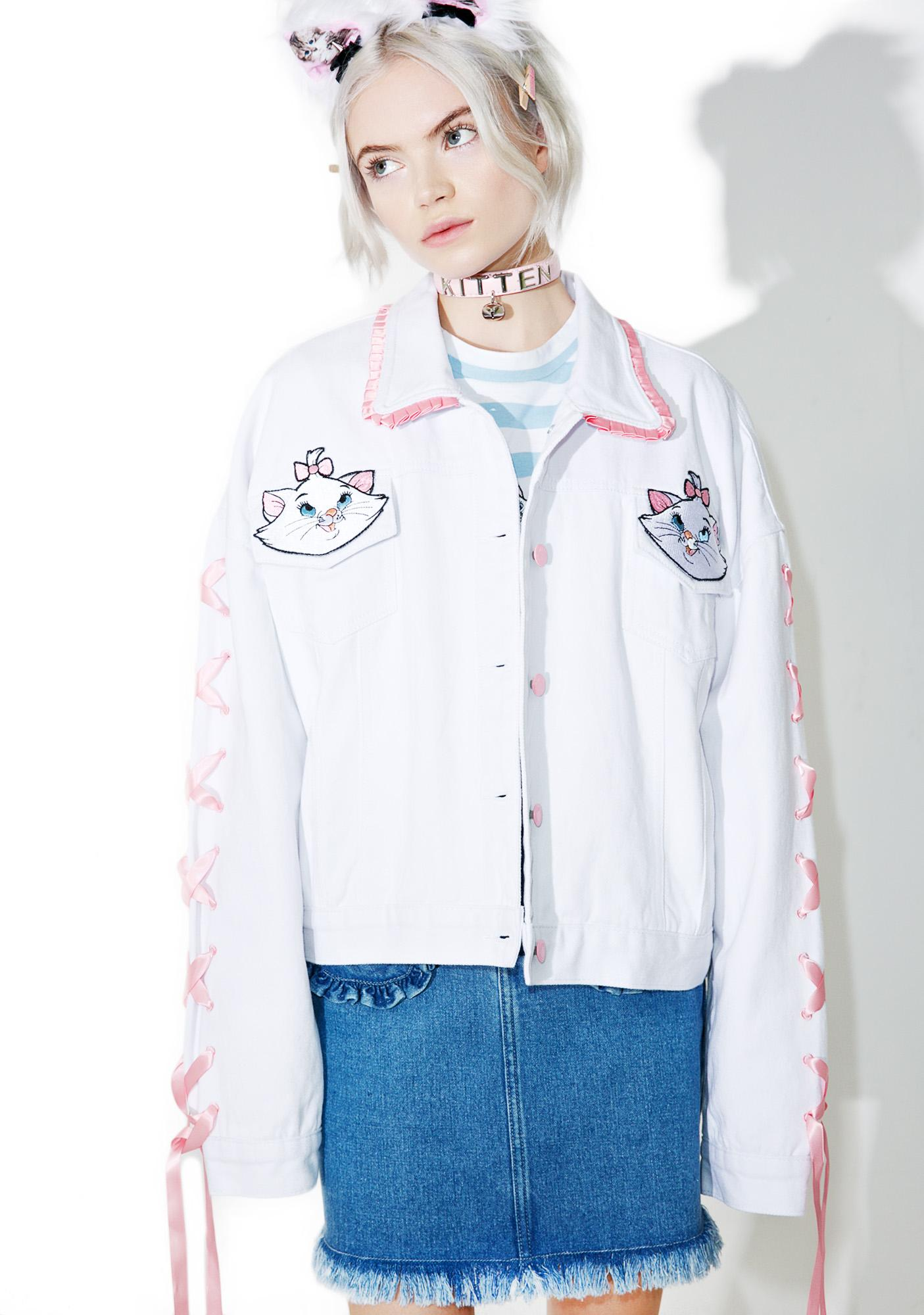Lazy Oaf X Disney Aristocats Denim Jacket