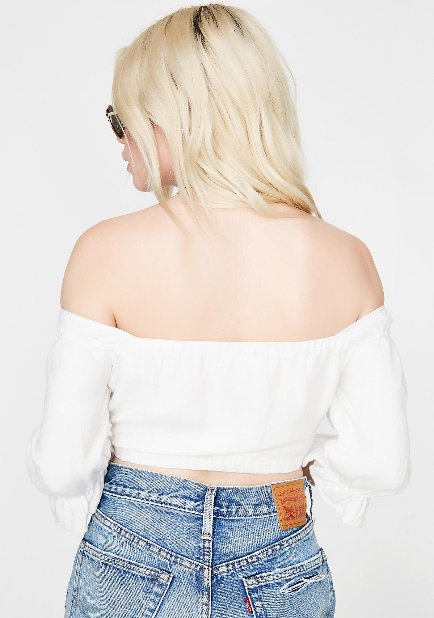 Icy Highly Desired Crop Top