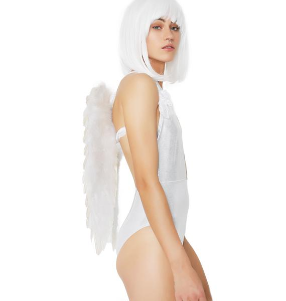 Heavenly Babe Feathered Wings